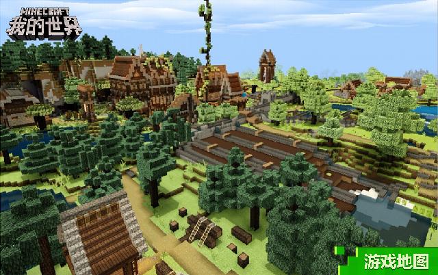 《我的世界》村庄系列玩法 感受属于你的游戏风情